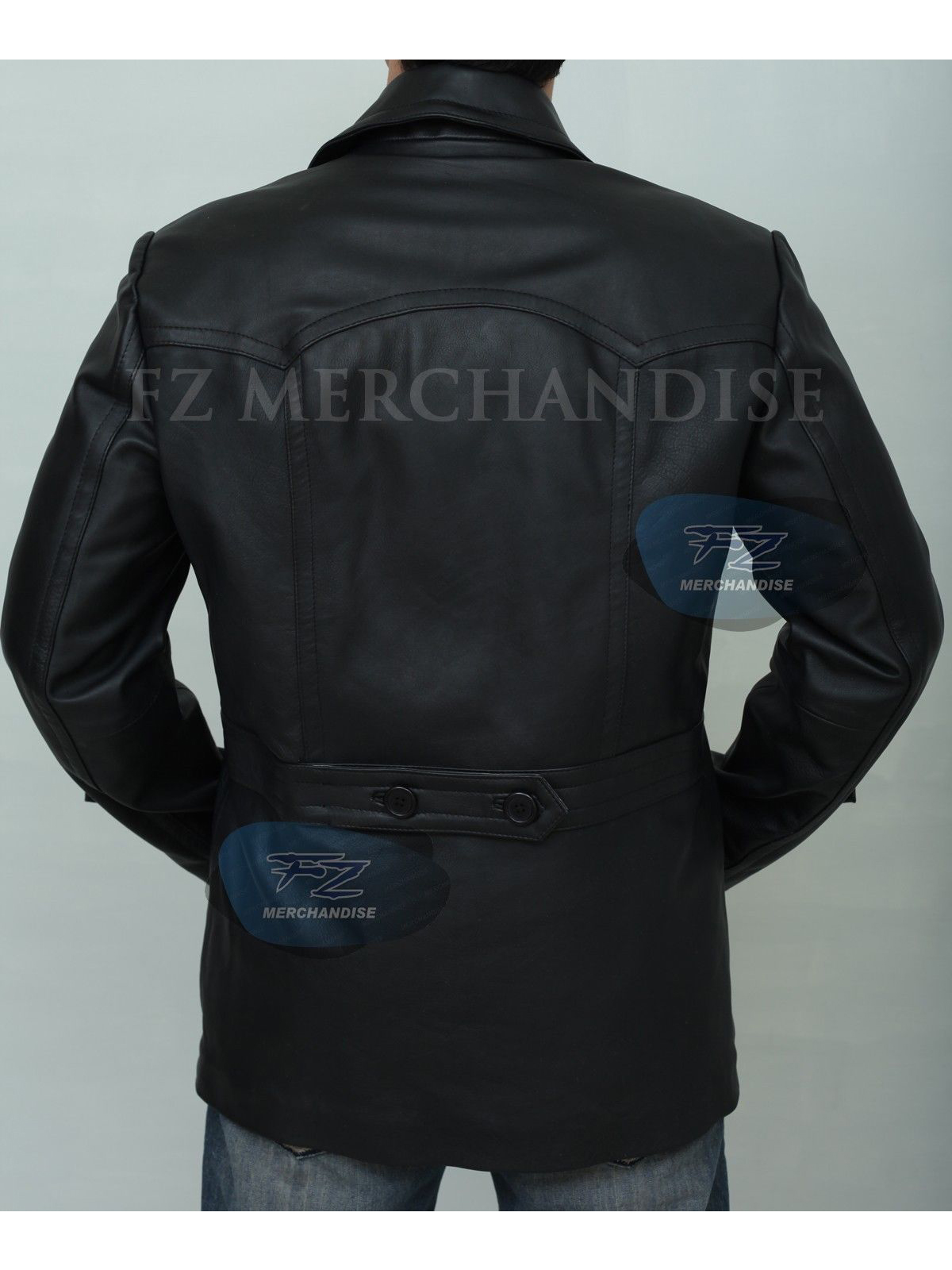 German Submariner WW2 KRIEGSMARINE Leather Jacket